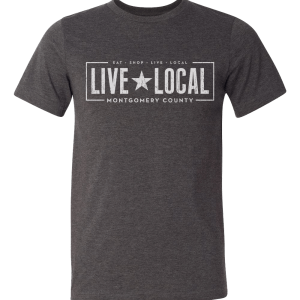 live local montgomery county unisex tee